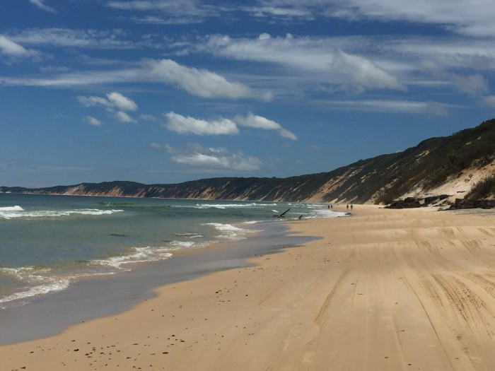 Beautiful Rainbow Beach - Our First Destination on our Road Trip