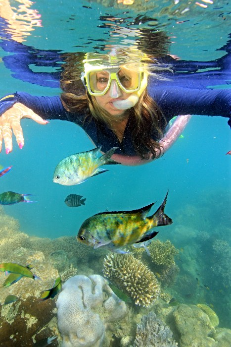Pinch me, this can't be real - Adele Snorkeling