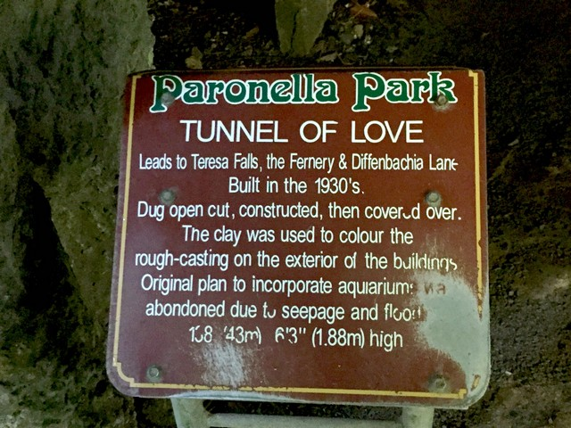 Tunnel of Love in Paronella Park