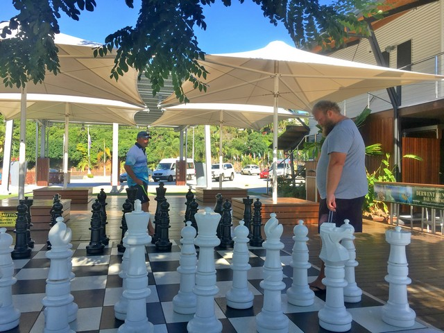 A game of oversized Chess