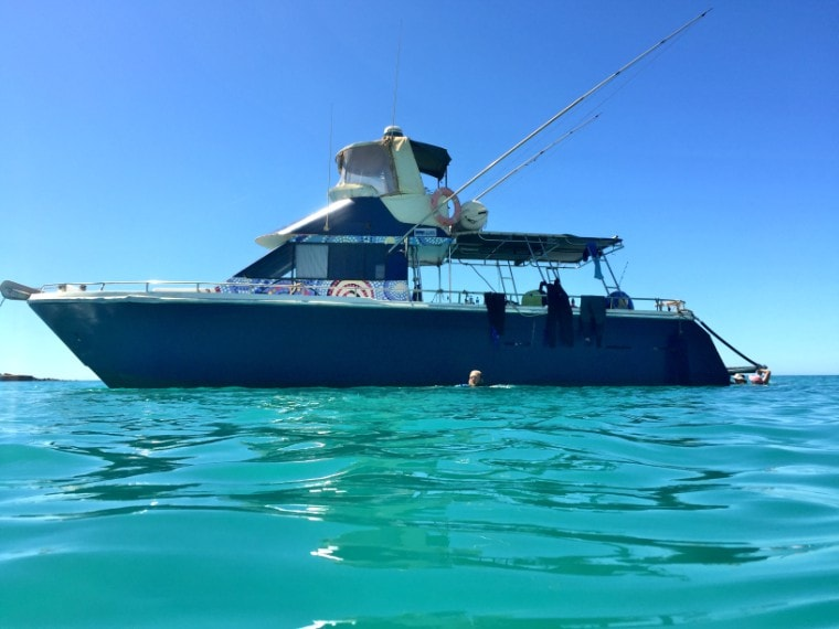 Great weather for snorkeling in the Whitsundays