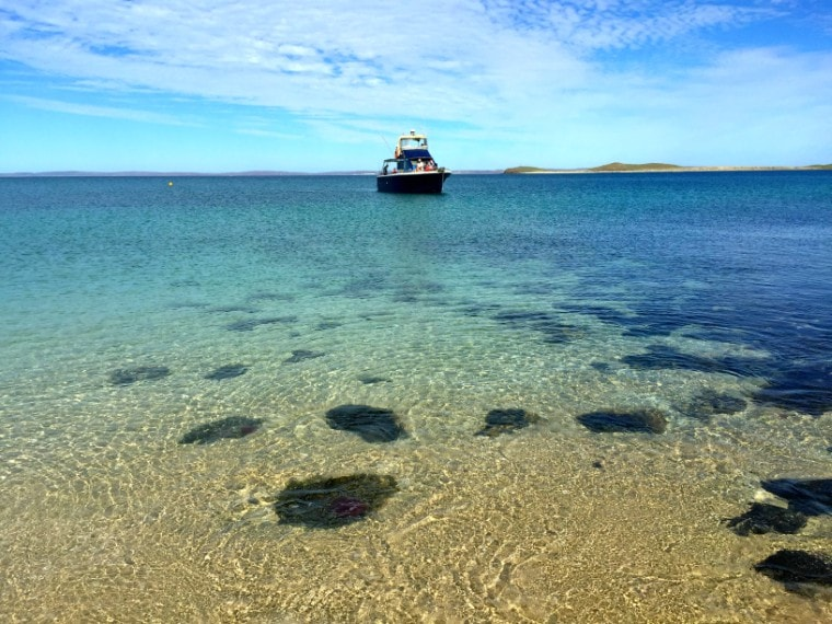 A Day out on the Water in Dampier