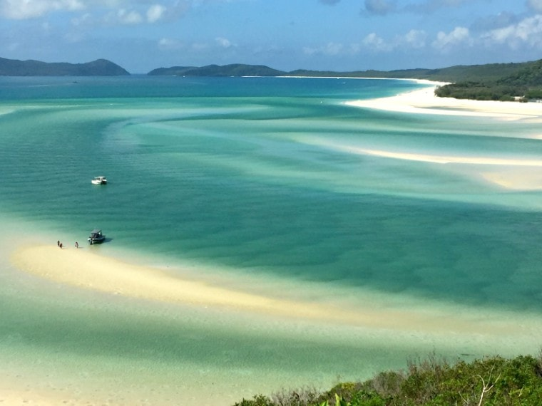 Hill Inlet is one of the best things to see in Whitsundays
