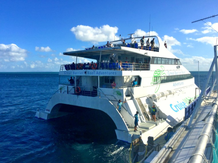 Great Barrier Reef Adventures Cruise Whitsundays