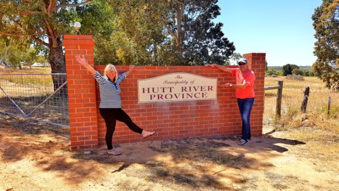 The Entrance to the Pprincipality of Hutt River