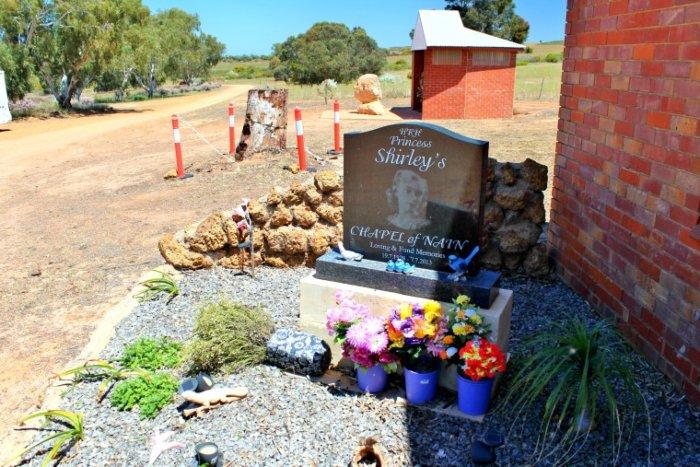 Shrine to Princess Shirley