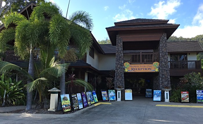 Seabreeze Tourist Park Reception