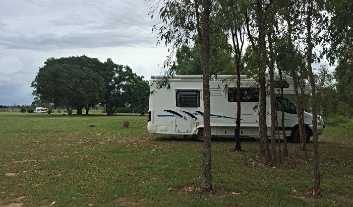 Camped up at Boynedale Bush Camp Lake Awoonga