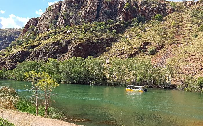 Looking out on the Ord River