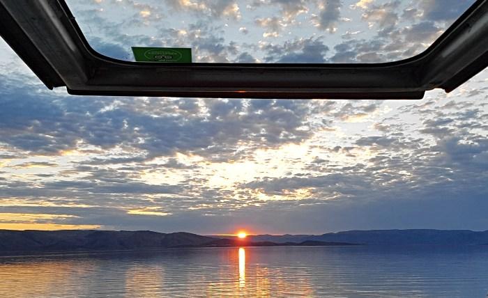 Sunset on Lake Arygle