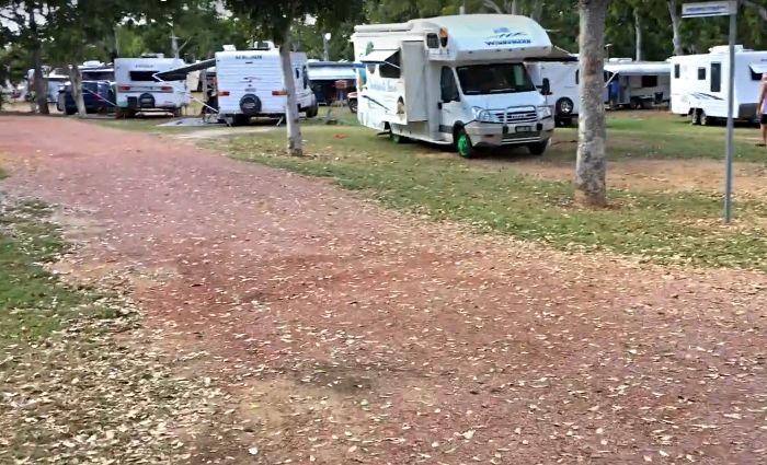 Charters Towers Caravan Park campsite