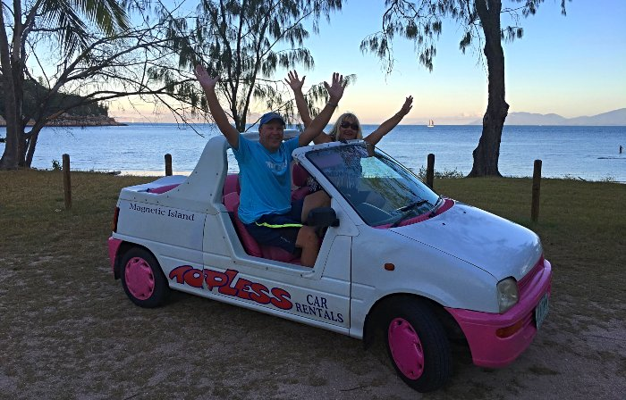 Topless on Magnetic Island