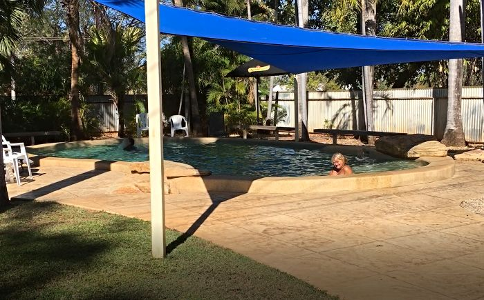 Katherine Caravan Park Pool