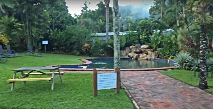 Lake Placid Tourist Park pool