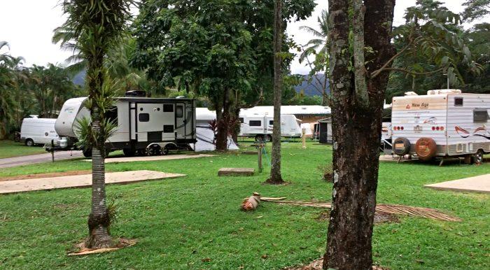 Mossman Caravan Park campsites