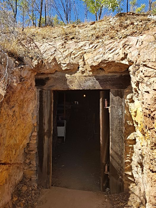 Underground Hospital Tunnel Entry