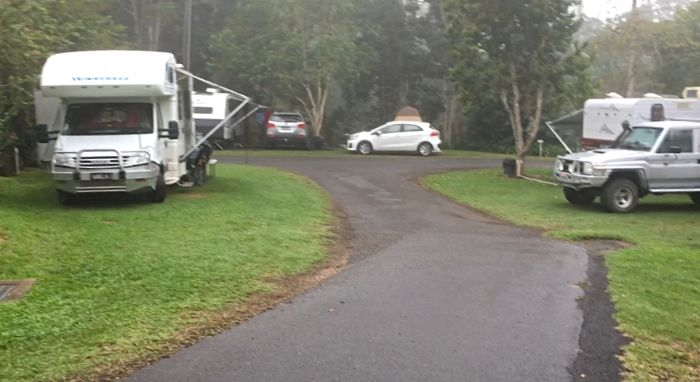Atherton Caravan Park Campsite