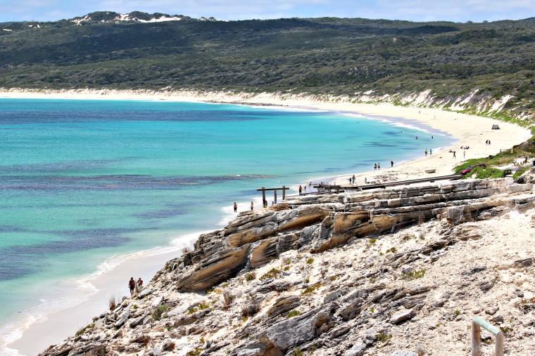 Limestone Cliffs of Hamelin Bay