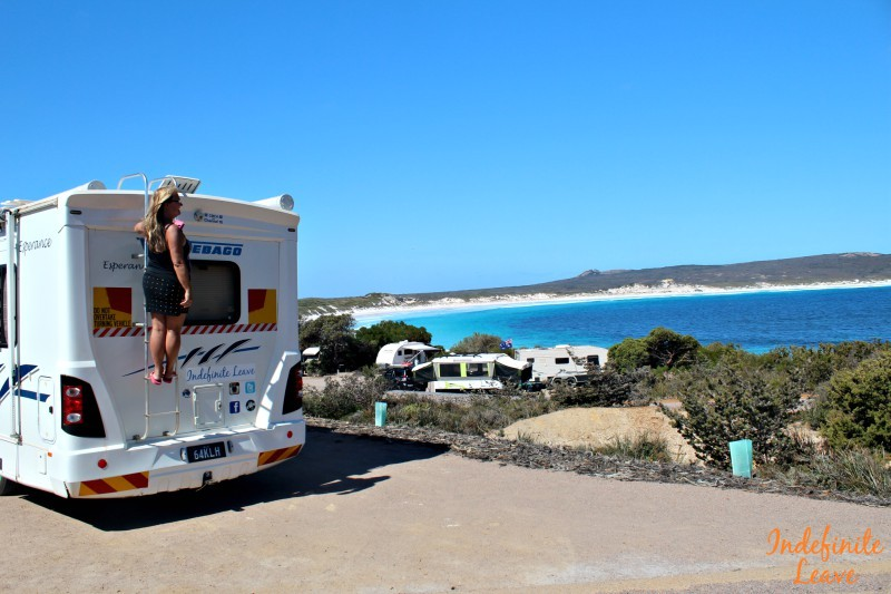 Campgrounds are one of our accommodations costs for traveling Australia