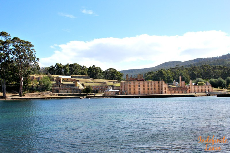 12 months costs for travelling Australia included a tour of Port Arthur, Tasmania