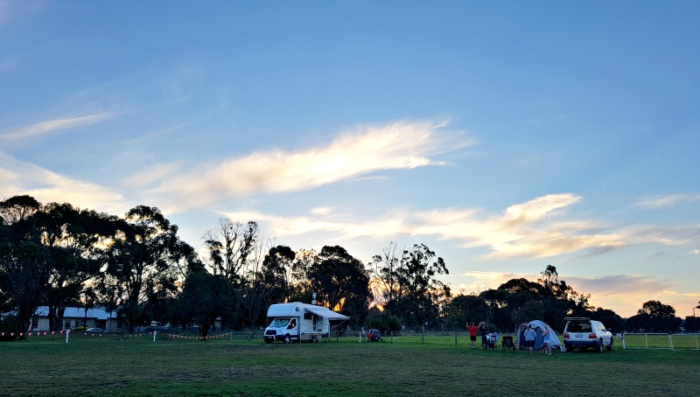 Mount Gambier Showgrounds - Low Cost Campground in Australia