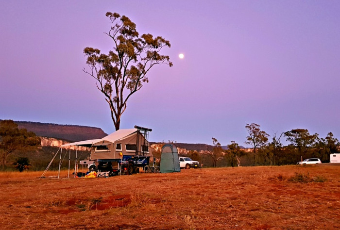 Sandstone Park Campground Carnarvon Gorge - Best Free or Low Cost Campground in Australia