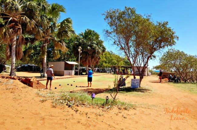 Lawn Bowls at Barn Hill Station