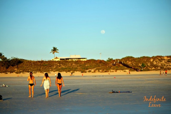 Full moon over Cable Beach Broome