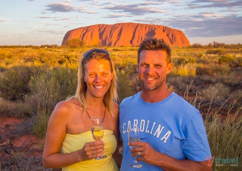 yTravelblog - Craig & Caz in Uluru