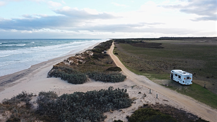 McGaurans Beach is a fabulous free camp