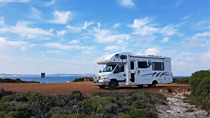 Free Camping on Kangaroo Island is great!