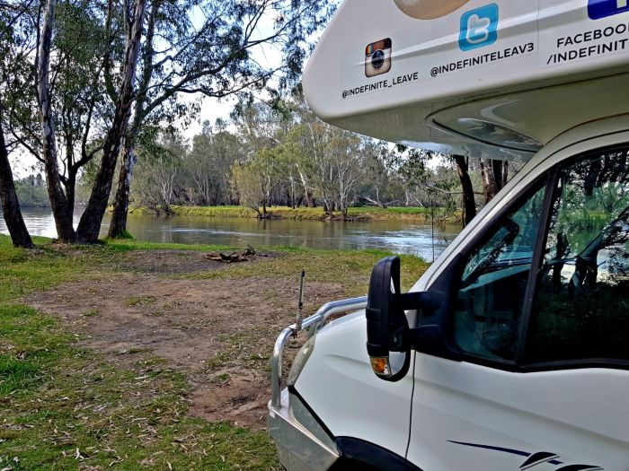 Doolans Bend on the Murray River