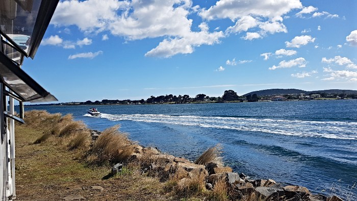 Garden Island is a great free camp in Tasmania