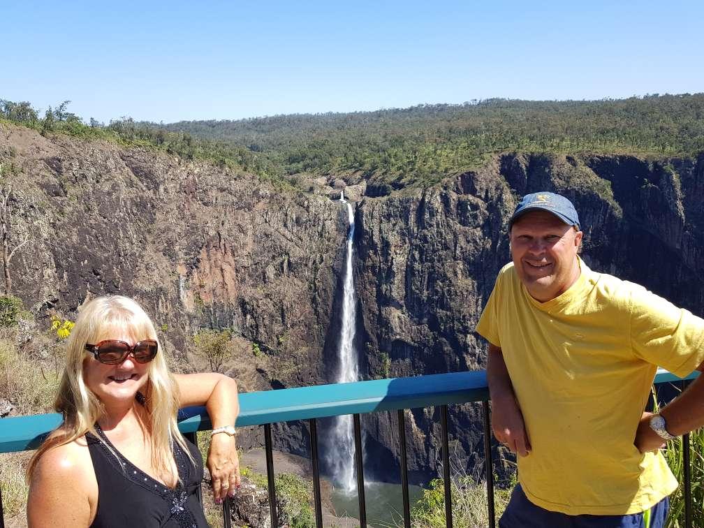 Wallaman Falls, the highest single drop waterfall in Australia