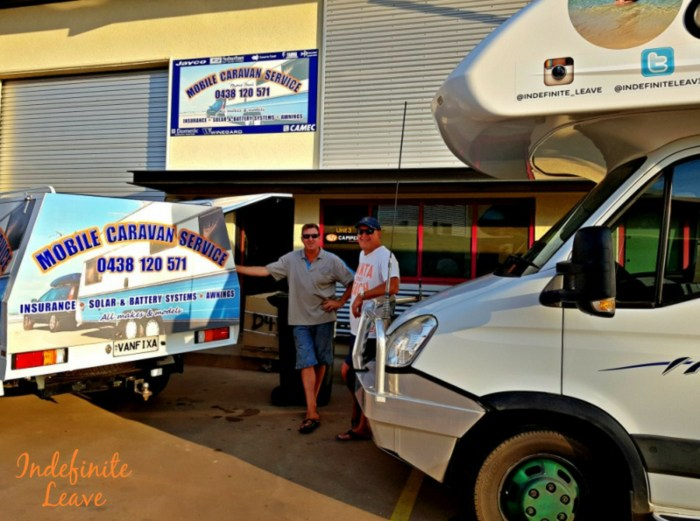 CIL Claim repairs in Darwin