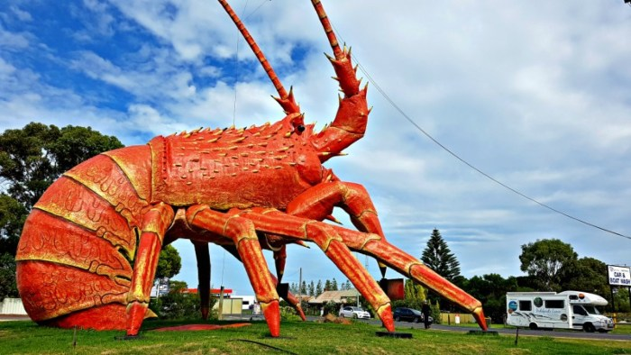 Big Things of Australia - The Big Lobster Kingston S.E. SA