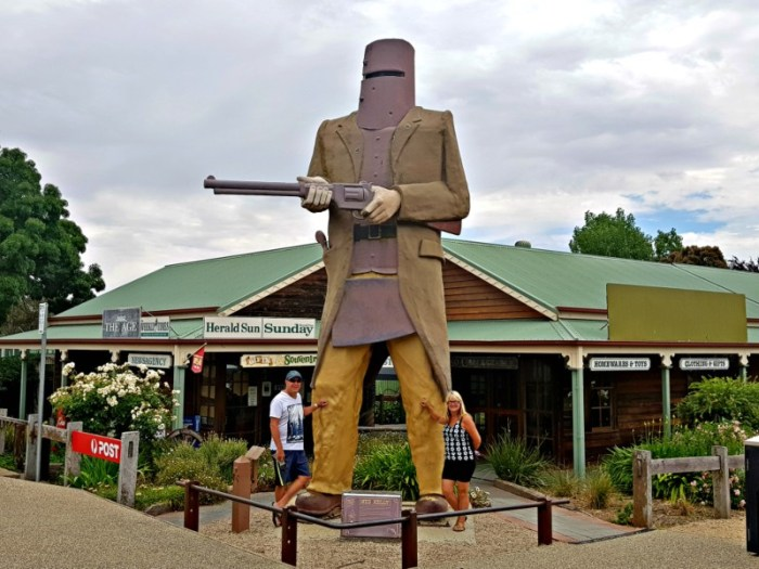 Big Things of Australia - The Big Ned Kelly Glenrowan Vic