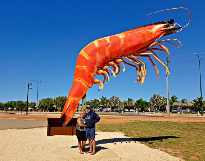 The Big Prawn - Exmouth WA
