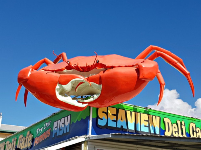The Big Crab in Cardwell Qld