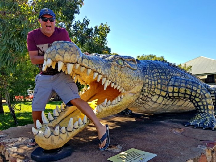 Krys The Big Crocodile Normanton Qld