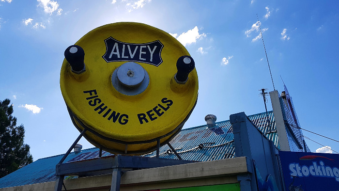 The Big Alvey Fishing Reel