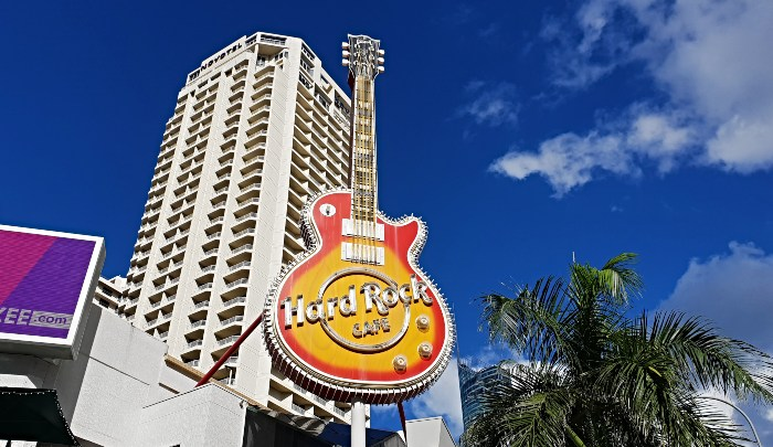 The Big Hard Rock Guitar Surfers Paradise