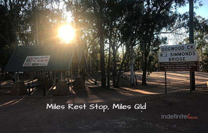 Miles Rest Stop