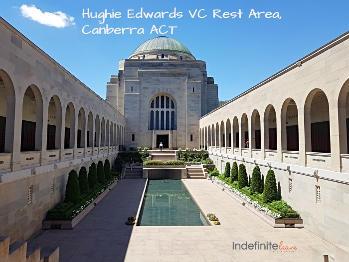 Hughie Edwards VC Rest Area