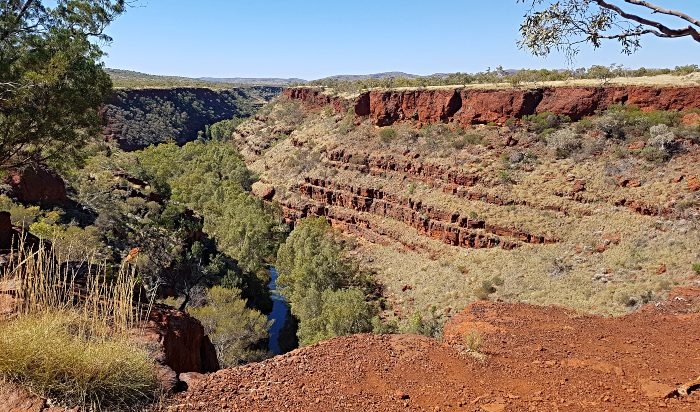 Dales Campground is within easy reach of Dales Gorge
