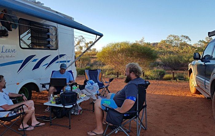 Karijini Camping at Dales Camapground