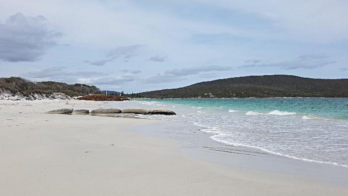 The Big 4 Emu Park Caravan Park backs onto the beach