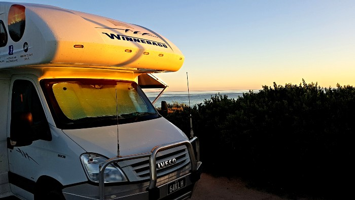 Our Bay of Fires Camping site