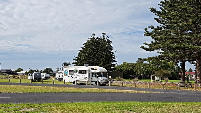 Camped up at the Kingston SE RV Park