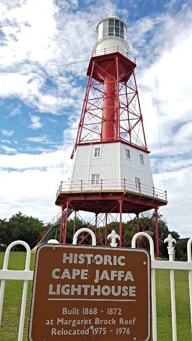 Original Cape Jaffa Lighthouse